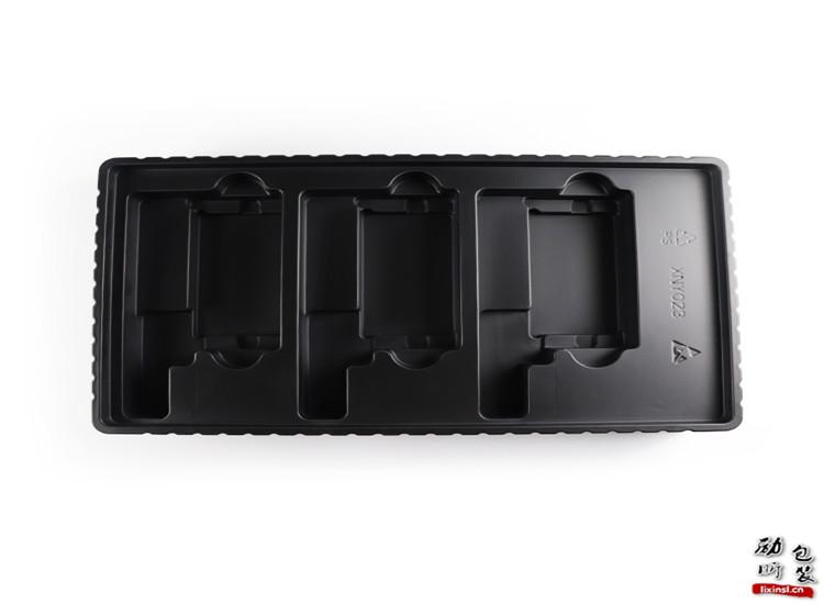 PP/ PET/PVC/PS一次性黑色塑料工业包装托盘